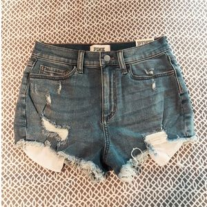 Victoria's Secret high waisted jean shorts